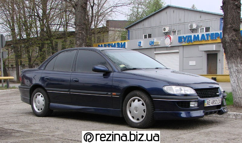 Opel 3.0V6 kompressor - тест Bridgestone Adrenalin RE002